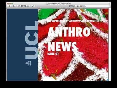 UCL Department of Anthropology Newsletter