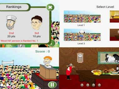 Angry Awaam , An android platform game