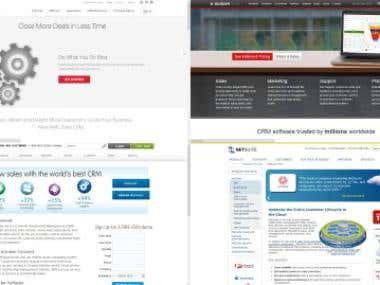CRM Netsuite CRM/Zoho CRM/SugarcrmCRM/salesforce.com