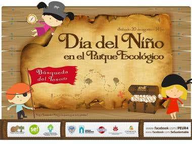 Afiche Día del Niño
