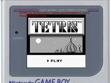 Gameboy Tetris Clone