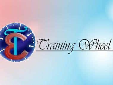 Logo for training wheel