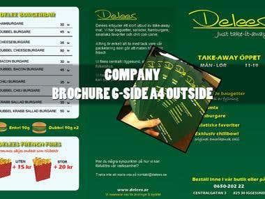 Brochure - Delees Takeaway