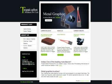 HTML,PHP Template