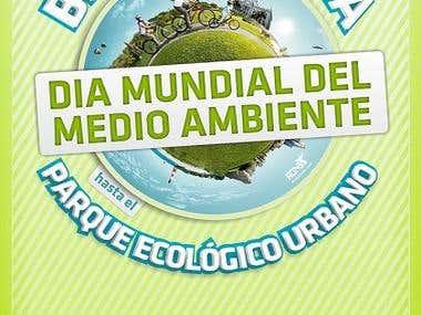 Afiche para evento. Día del Medio Ambiente.