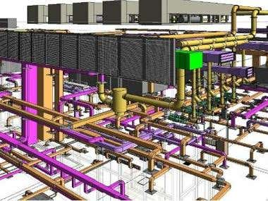 Revit/BIM Clash detection, BoQ, IFC/Shop Drawings, 4D and 5D