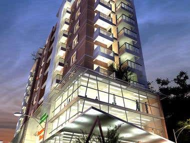 Commercial Cum Residential Building Project