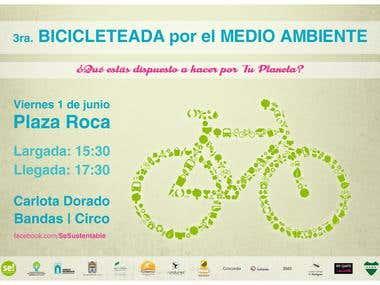 Afiche para evento.