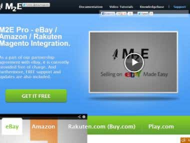 M2E Pro - eBay / Amazon / Rakuten Magento Integration.