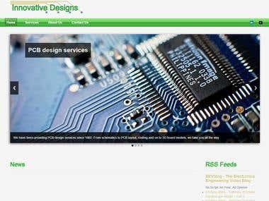 Innovative Designs PCB Website
