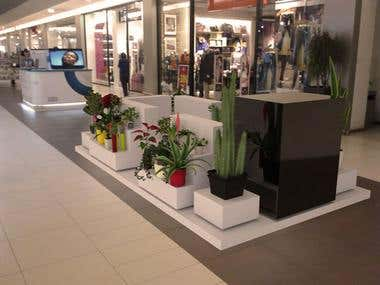 exhibition stands for flowers