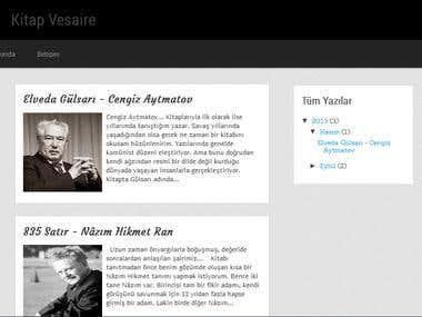 My Blog (ready theme)