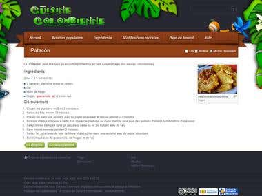 Website Colombian Recipes