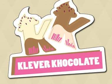 Logo For Klever Khocolate