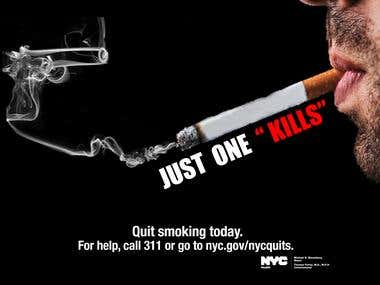 Nyc smoking campaign