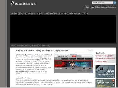 MasterClick Desktop Application