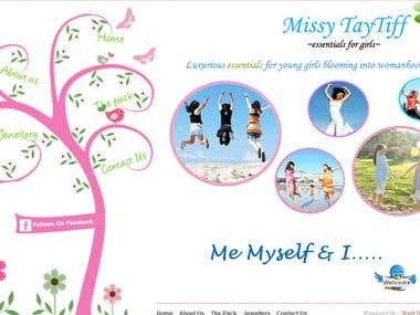 http://missytaytiff.com Wordpress CMS