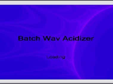 Wav and MP3 Acidizer