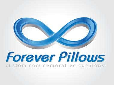 Forever Pillows - Example of Logo.