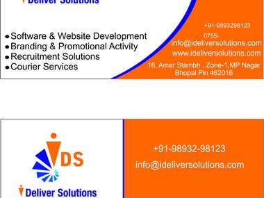 I Deliver Solutions work