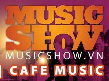 A music show banrol