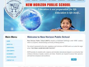 Website for School
