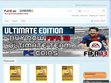 Fifa 13 Ultimate Team coins
