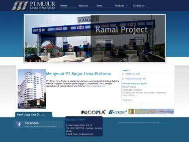 Mujur Pratama Company Website