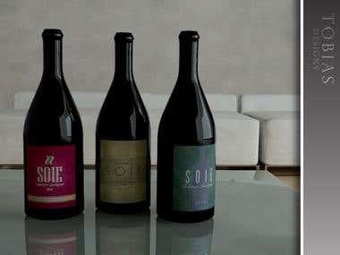 Soie Wine Label Concepts