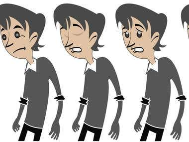 Flash animation Character
