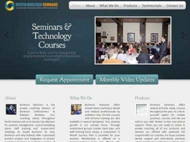Dustin Burleson Seminars