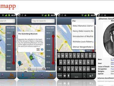 Typomap app