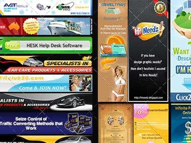 Web Banners & Headers