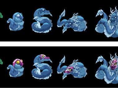 Dragon levels