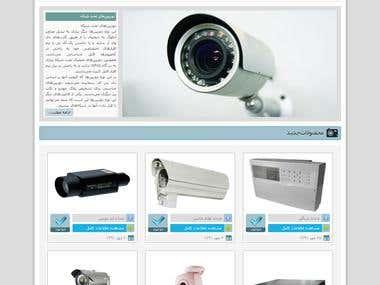 CCTV website (Wordpress)