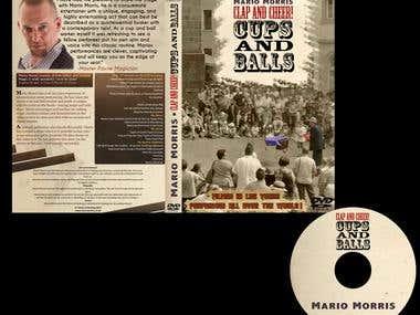 MARIO MORRIS DVD Cover Design