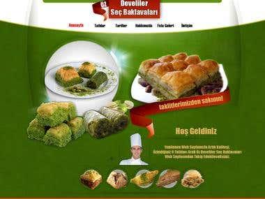 Turkish Baklava Project
