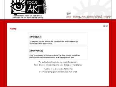 Focus Art Online (Joomla)