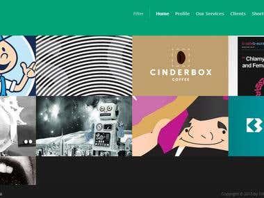 Graphic Design Wesbsite