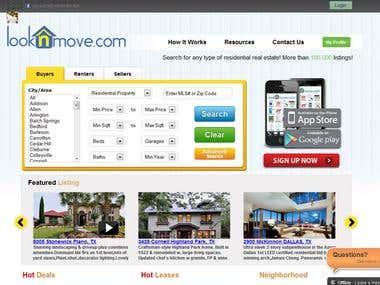 looknmove web application