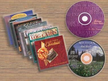 Music CD Packaging
