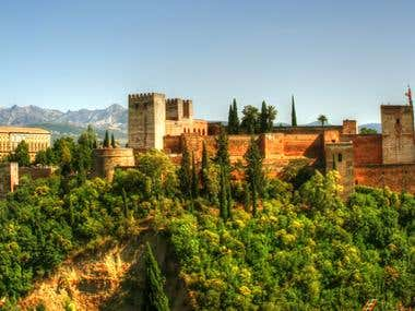 The Alahambra Spain