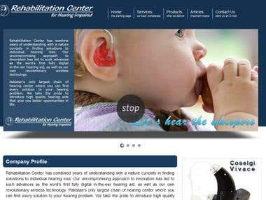Rehabilitation Center WebSite and MIS