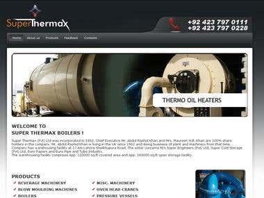 Super Thermal Website