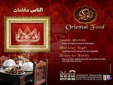 Molookia Oriental Food Ad