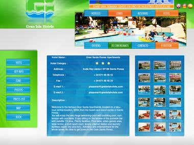Gran Isla Hotel Website