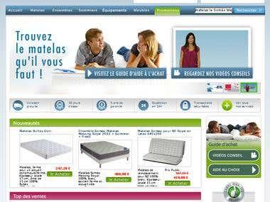 LeMatelas.fr : Vente de literie, matelas, sommier