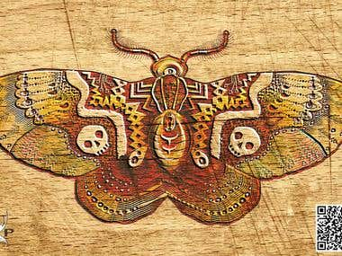 Clockwork moth