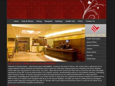 Savoey Hotel Lahore Web Site