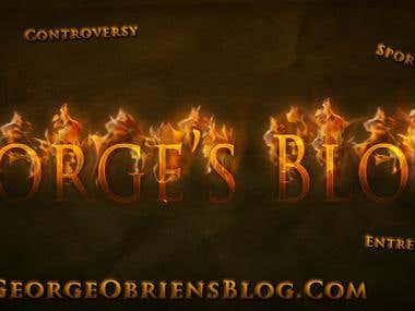 George's Blog Banner Design